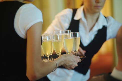 Celebration time at reception images