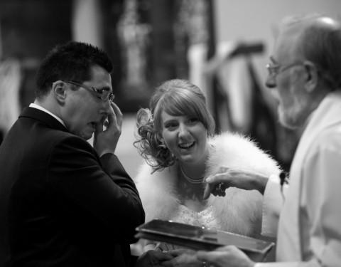 Wedding vows photographer