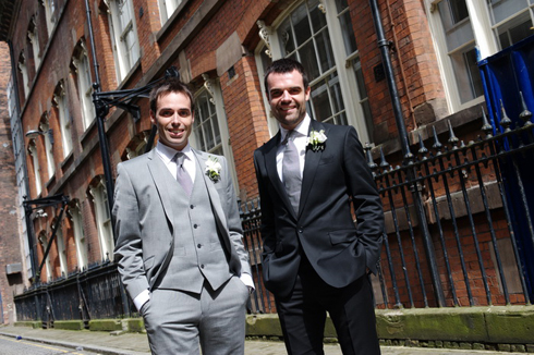Groom and Bestman photo