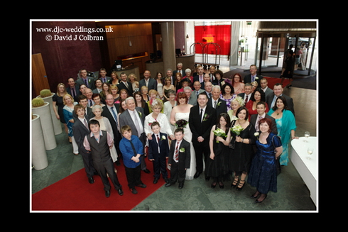 Big group wedding photo