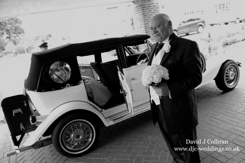 Formby Golf Club wedding - Father of the Bride