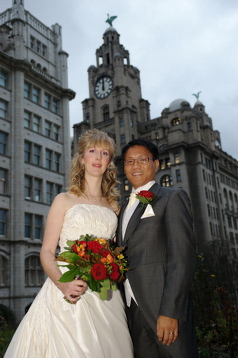 Liverpool Pierhead wedding