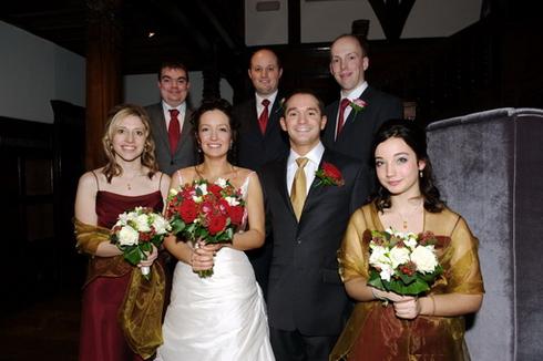 Traditional group wedding photography