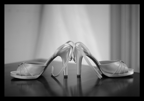 Combermere Abbey wedding shoes photograph