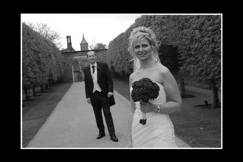 Bride and Groom shot