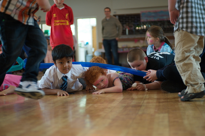 Games at kids birthday party image