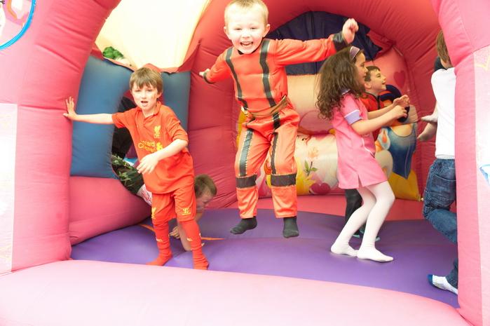 Bouncy castle photographer