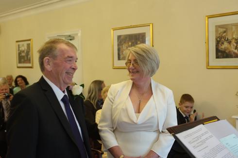 Surrey wedding registry office