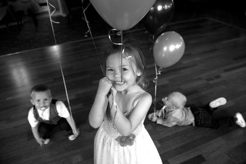 Family orientated wedding photographer