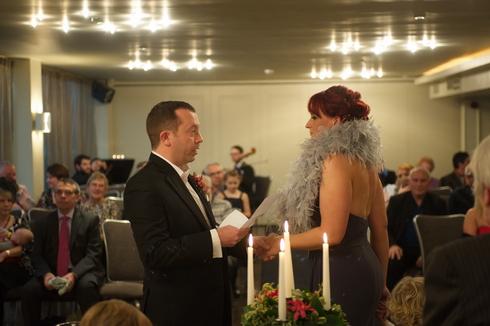 Vincent Hotel wedding ceremony service