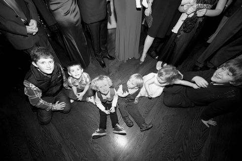 kids children at wedding