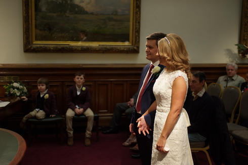 St Georges Hall ceremony