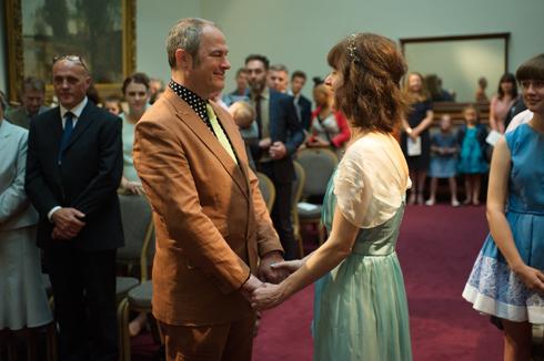 Wedding ceremony image