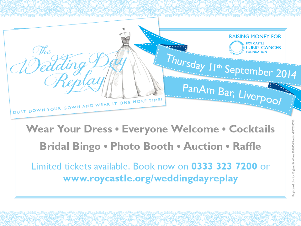 Wedding Day Replay - charity event