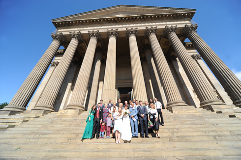 Exterior of St George's Hall photography