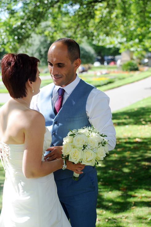 friendly reliable recommended wedding photographer