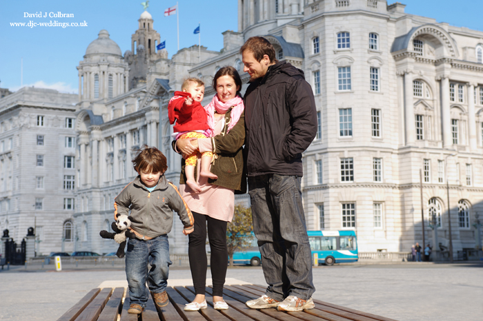 Lifestyle family portraits in Liverpool