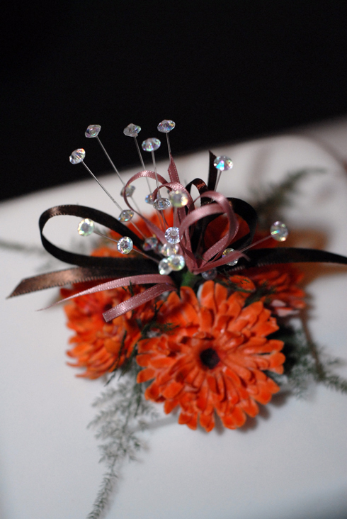 beautiful flowers at a UK wedding