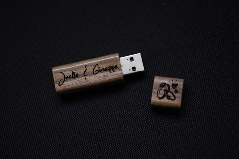 USB pen for wedding digital package