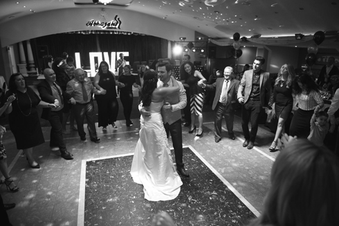 First dance photography at the Abhayah Liverpool wedding venue