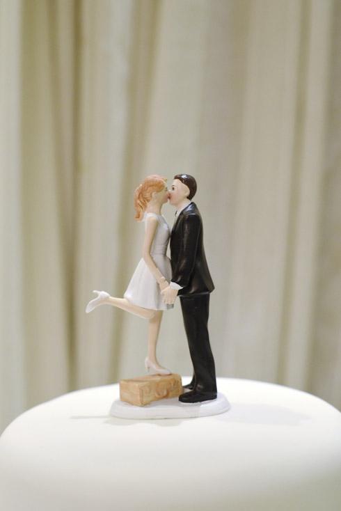 Wedding cake detail photograph