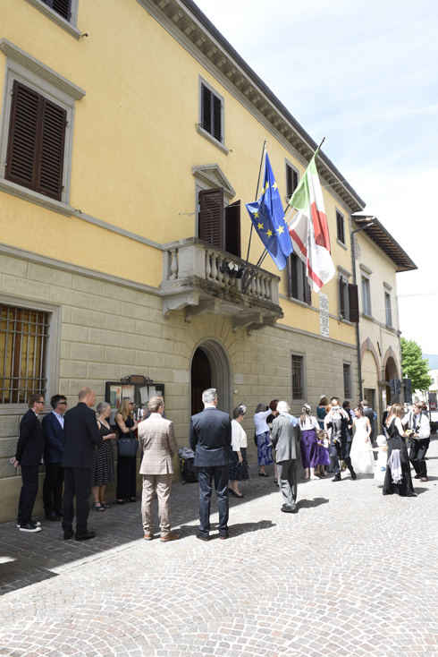 Vicchio Town Hall Photographer from UK